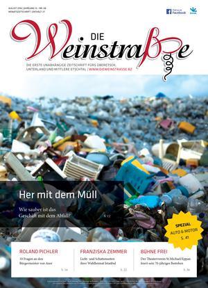 Die vollständigen Artikel finden Sie in der aktuellen Ausgabe der Weinstraße!